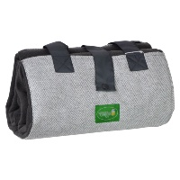 Plaid da picnic gita: in pile grigio scuro,