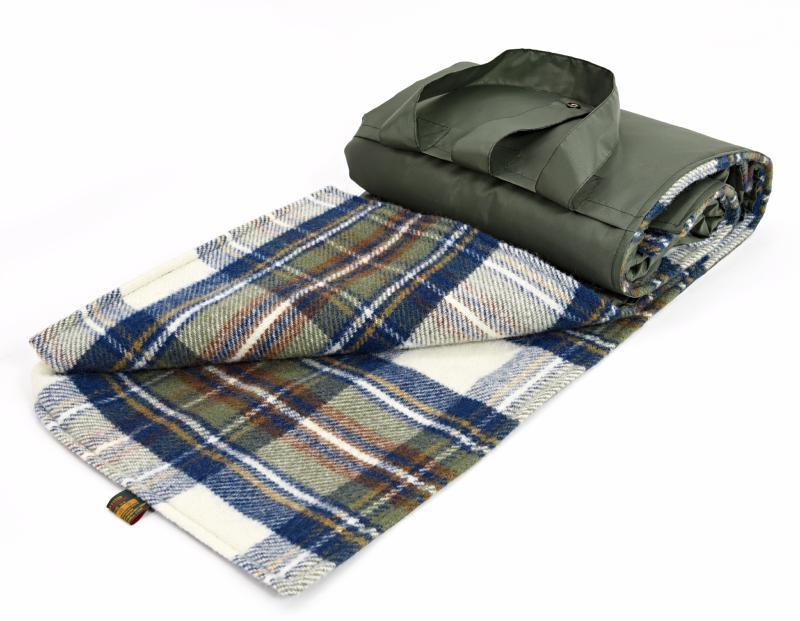 elegante plaid da picnic in pile impermeabile. Black Bedroom Furniture Sets. Home Design Ideas