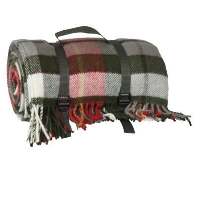 grande telo da picnic viaggio in pura lana vergine. Black Bedroom Furniture Sets. Home Design Ideas